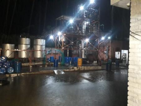 Fractional Distillation Plant on lease
