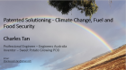 Patented Solutioning for Climate Change, Fuel and Food Security