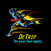 "DETRIP® ""THE ALCOHOL COUNTERACTOR"" - ""ON YOUR FEET AGAIN""."
